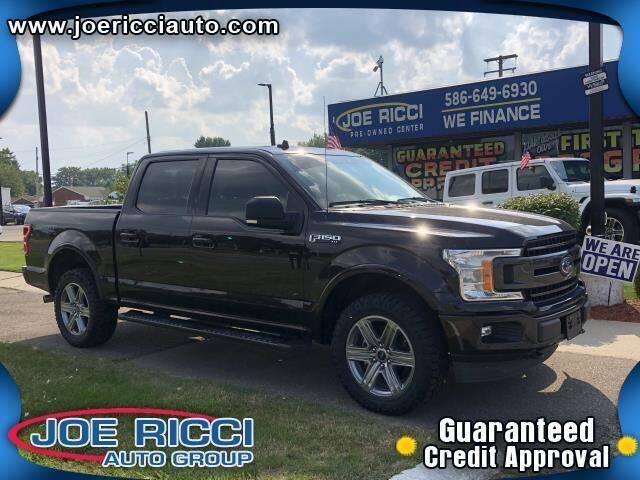 2019 Ford F-150 for sale at JOE RICCI AUTOMOTIVE in Clinton Township MI