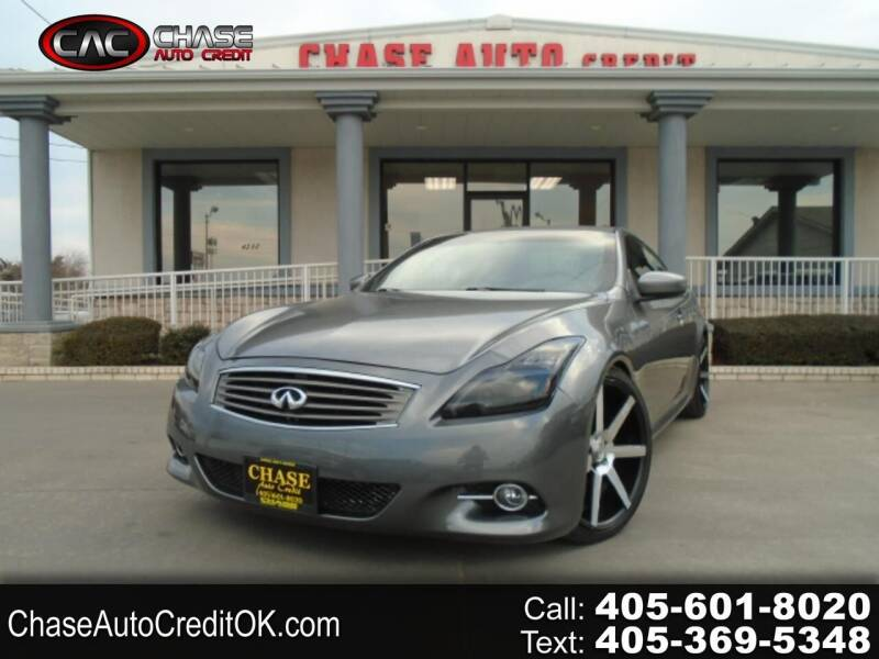 2011 Infiniti G37 Coupe for sale at Chase Auto Credit in Oklahoma City OK