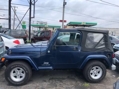 2005 Jeep Wrangler for sale at Debo Bros Auto Sales in Philadelphia PA