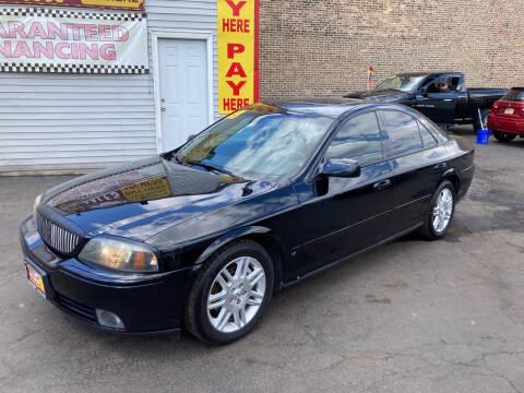 2003 Lincoln LS for sale at RON'S AUTO SALES INC in Cicero IL