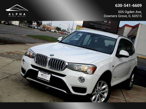 2015 BMW X3 for sale at Alpha Luxury Motors in Downers Grove IL