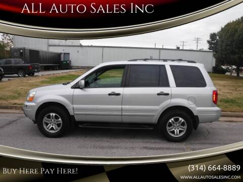2004 Honda Pilot for sale at ALL Auto Sales Inc in Saint Louis MO