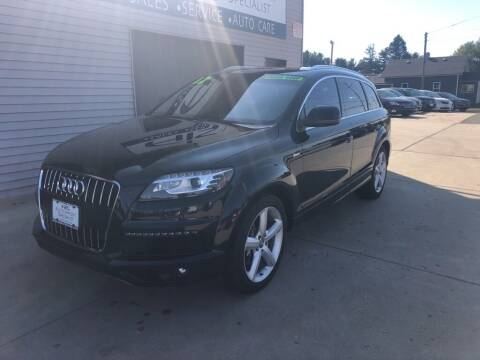 2012 Audi Q7 for sale at Auto Import Specialist LLC in South Bend IN