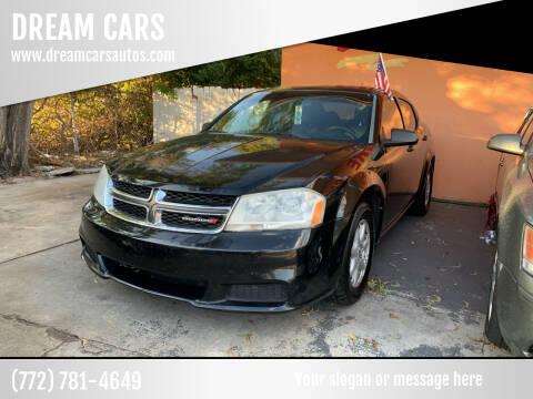2012 Dodge Avenger for sale at DREAM CARS in Stuart FL