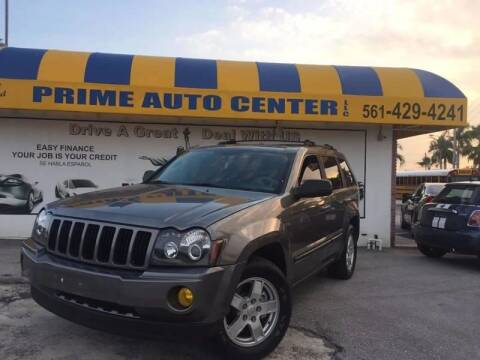 2007 Jeep Grand Cherokee for sale at PRIME AUTO CENTER in Palm Springs FL