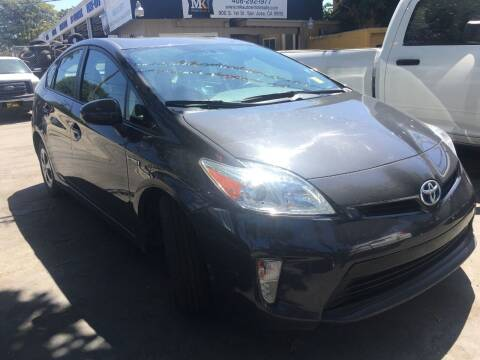 2015 Toyota Prius for sale at MK Auto Wholesale in San Jose CA