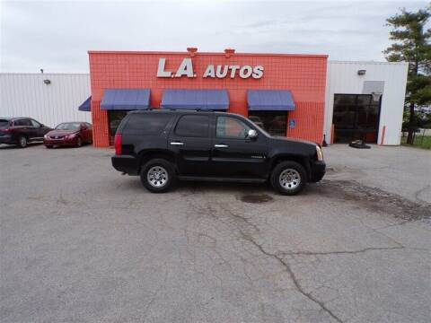 2008 GMC Yukon for sale at L A AUTOS in Omaha NE