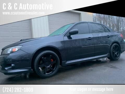 2009 Subaru Impreza for sale at C & C Automotive in Chicora PA