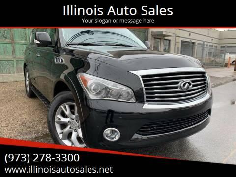 2011 Infiniti QX56 for sale at Illinois Auto Sales in Paterson NJ