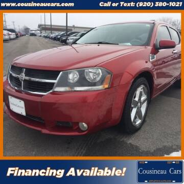 2008 Dodge Avenger for sale at CousineauCars.com in Appleton WI