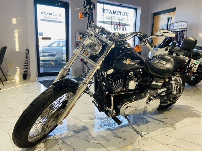 2012 HARLEY DAVIDSON FXDC SUPERGLIDE for sale at Ultimate Auto Deals in Fort Wayne IN