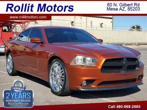 2013 Dodge Charger for sale at Rollit Motors in Mesa AZ