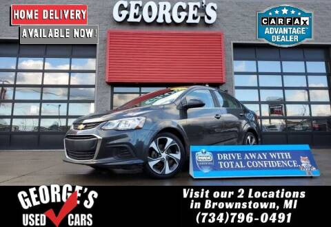 2017 Chevrolet Sonic for sale at George's Used Cars - Pennsylvania & Allen in Brownstown MI