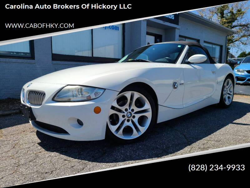 2005 BMW Z4 for sale at Carolina Auto Brokers of Hickory LLC in Newton NC