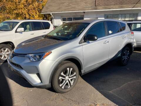 2018 Toyota RAV4 for sale at ENFIELD STREET AUTO SALES in Enfield CT