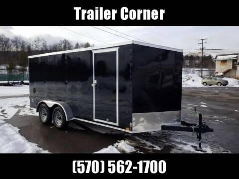 2022 Look Trailers STLC 7X16 - RAMP DOOR