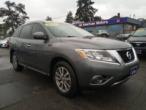 2015 Nissan Pathfinder for sale at All American Motors in Tacoma WA
