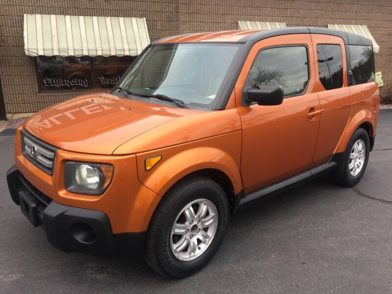 2007 Honda Element for sale at Depot Auto Sales Inc in Palmer MA