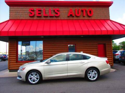 2014 Chevrolet Impala for sale at Sells Auto INC in Saint Cloud MN
