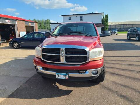 2006 Dodge Ram Pickup 2500 for sale at Rum River Auto Sales in Cambridge MN