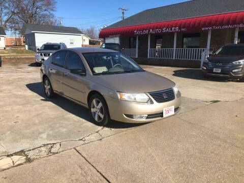 2007 Saturn Ion for sale at Taylor Auto Sales Inc in Lyman SC