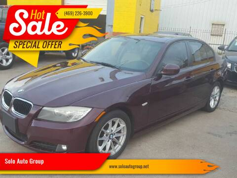 2010 BMW 3 Series for sale at Solo Auto Group in Mckinney TX