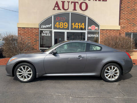 2012 Infiniti G37 Coupe for sale at Professional Auto Sales & Service in Fort Wayne IN
