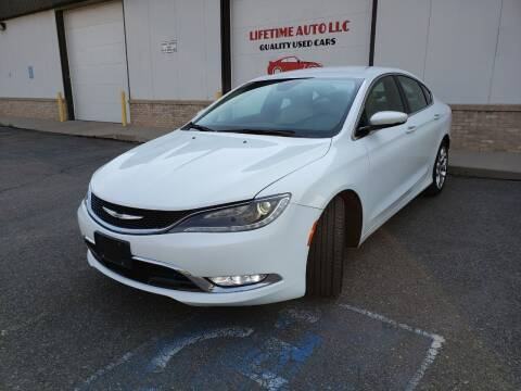 2016 Chrysler 200 for sale at Lifetime Auto LLC in Commerce City CO