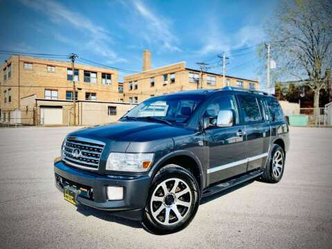 2008 Infiniti QX56 for sale at ARCH AUTO SALES in St. Louis MO