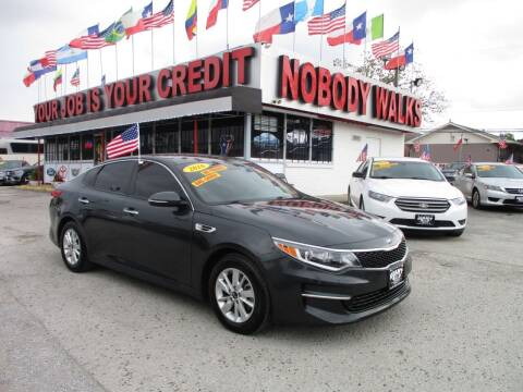 2016 Kia Optima for sale at Giant Auto Mart 2 in Houston TX