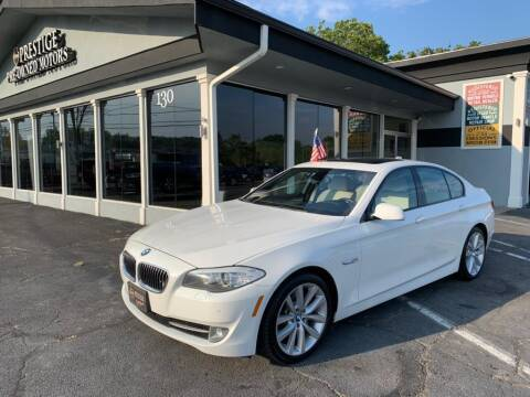 2012 BMW 5 Series for sale at Prestige Pre - Owned Motors in New Windsor NY