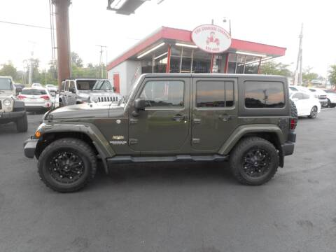 2015 Jeep Wrangler Unlimited for sale at The Carriage Company in Lancaster OH