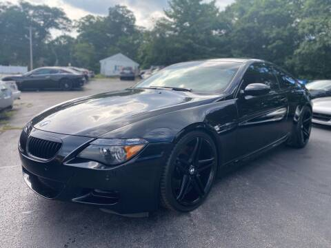 2007 BMW M6 for sale at SOUTH SHORE AUTO GALLERY, INC. in Abington MA