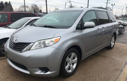 2011 Toyota Sienna for sale at Petite Auto Sales in Kenosha WI