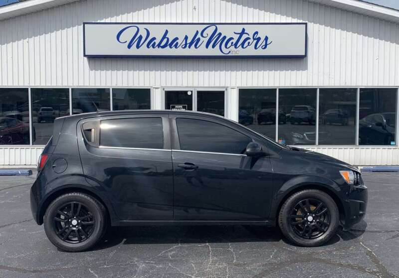 2014 Chevrolet Sonic for sale at Wabash Motors in Terre Haute IN