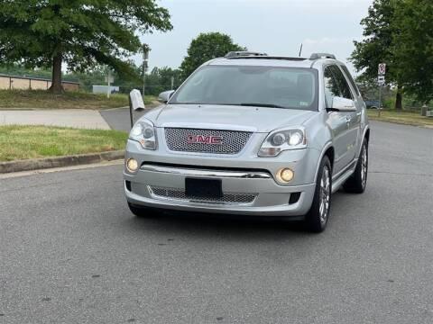 2011 GMC Acadia for sale at CarXpress in Fredericksburg VA