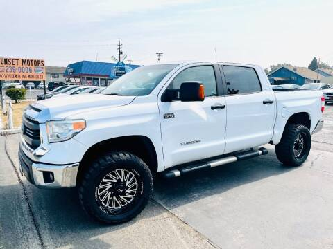 2014 Toyota Tundra for sale at Sunset Motors in Manteca CA