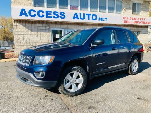 2014 Jeep Compass for sale at Access Auto in Salt Lake City UT