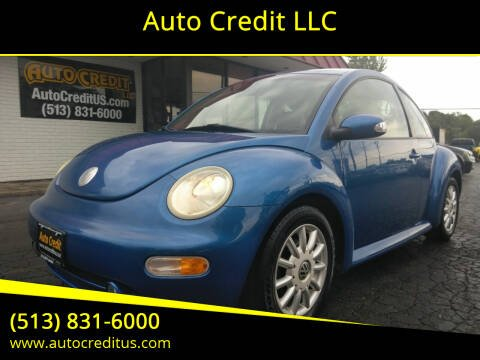 2005 Volkswagen New Beetle for sale at Auto Credit LLC in Milford OH