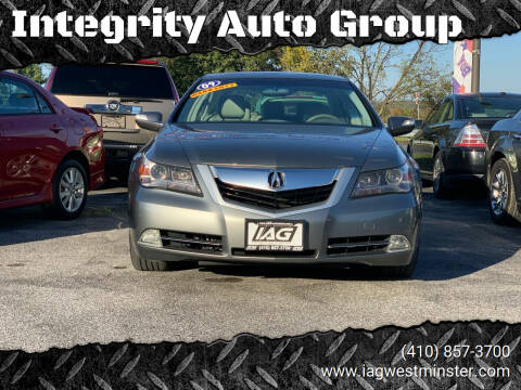 2009 Acura RL for sale at Integrity Auto Group in Westminister MD