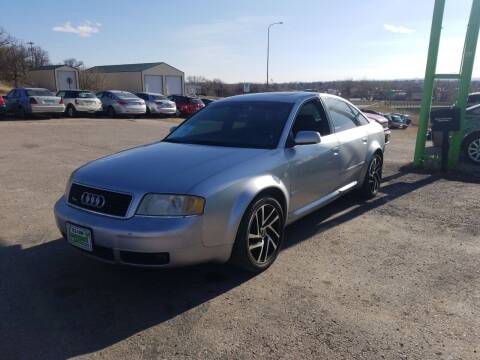 2000 Audi A6 for sale at Independent Auto in Belle Fourche SD