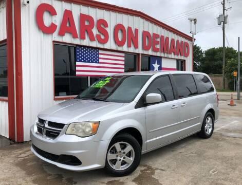2011 Dodge Grand Caravan for sale at Cars On Demand 3 in Pasadena TX