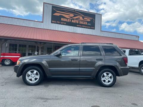 2006 Jeep Grand Cherokee for sale at Ridley Auto Sales, Inc. in White Pine TN