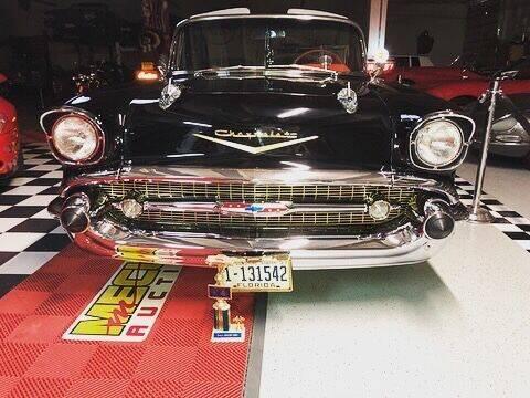 1957 Chevrolet Bel Air for sale at Berliner Classic Motorcars Inc in Dania Beach FL