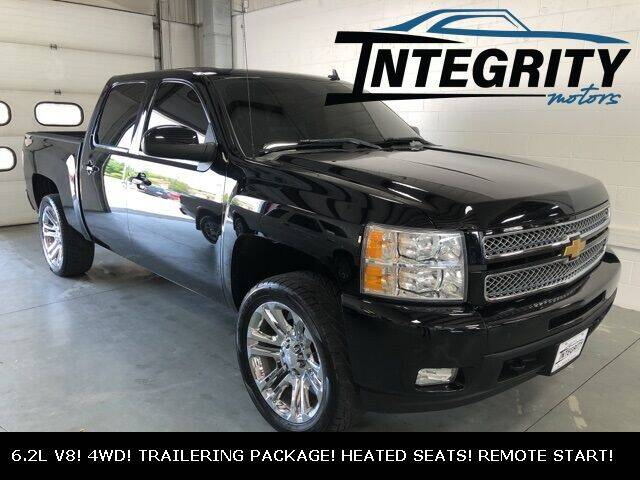 2012 Chevrolet Silverado 1500 for sale at Integrity Motors, Inc. in Fond Du Lac WI