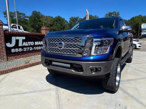 2018 Nissan Titan for sale at J T Auto Group in Sanford NC