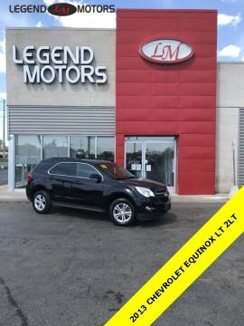 2013 Chevrolet Equinox for sale at Legend Motors of Detroit - Legend Motors of Ferndale in Ferndale MI