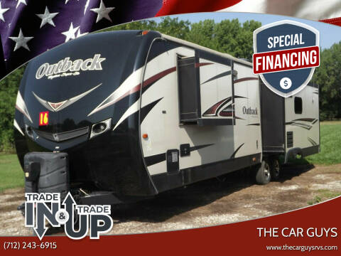 2016 Keystone RV Outback for sale at The Car Guys RV & Auto in Atlantic IA