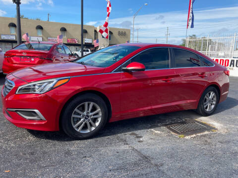 2017 Hyundai Sonata for sale at MACHADO AUTO SALES in Miami FL