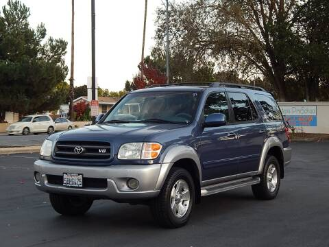 2003 Toyota Sequoia for sale at Gilroy Motorsports in Gilroy CA